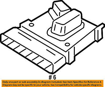 Chrysler Oem Power Seat Adjuster Switch 56049432ae