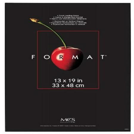 MCS 53936 Format Frame, 13 by 19-Inch, Black