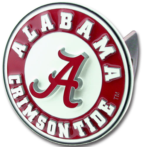 Alabama Crimson Tide Trailer Hitch Cover by Siskiyou
