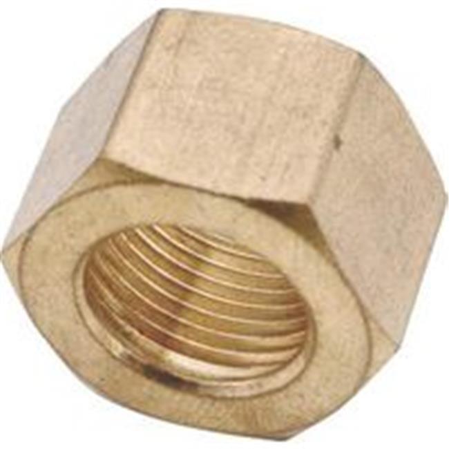 Anderson Metal Corp Compression Nut Brass 5/8 730061-10