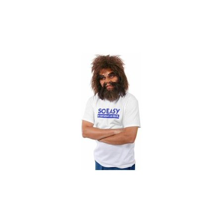 Cave Man Geico Half-Mask Costume - Cave Demon Mask