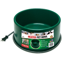 ROUND HEATED PET BOWL