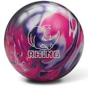 Best New Bowling Balls - Brunswick Rhino Reactive Bowling Ball- Purple/Pink/White Pearl (14lbs) Review