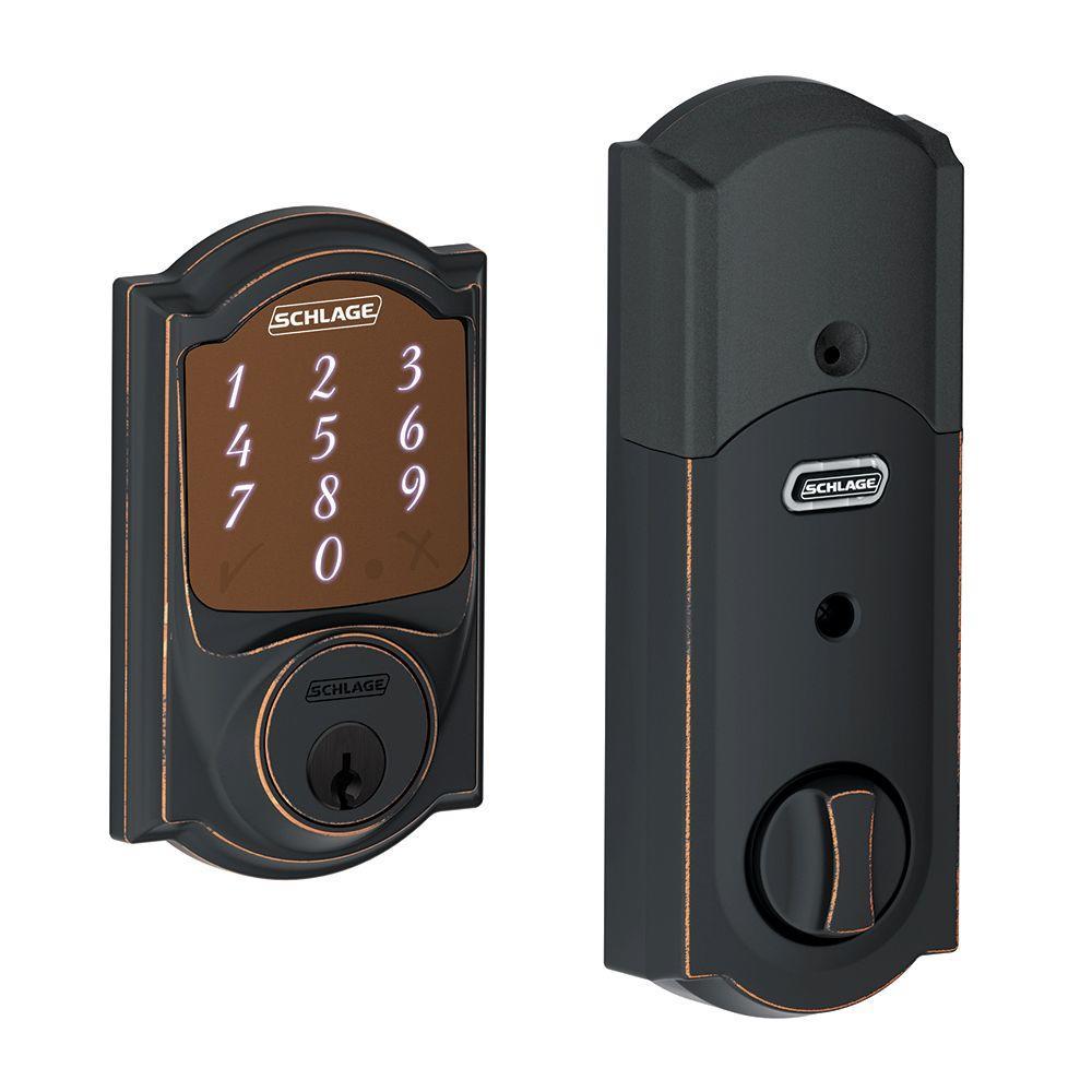 Schlage Camelot Aged Bronze Sense Smart Lock (New Open Box)