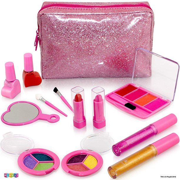 Kids Makeup Kit For Girl - 13 Piece