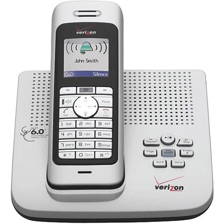 Verizon Digital Cordless Phone 300AM with Color Display, Digital Answering  Machine