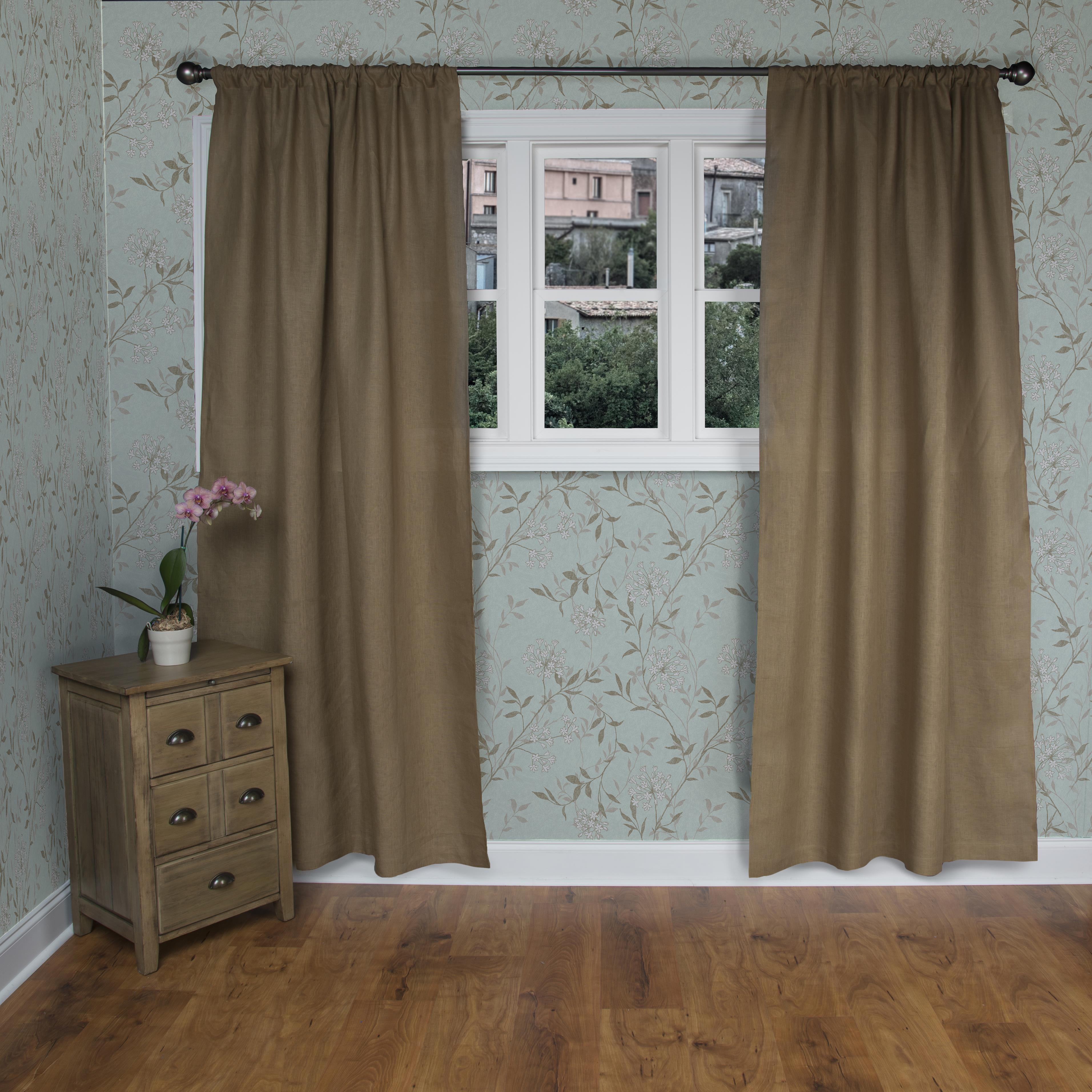 Rizzy Home Window Single Curtain Panel