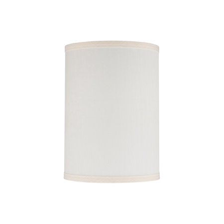 """Aspen Creative 30029 Transitional Bell Curve Corner Shape Spider Construction Lamp Shade in Off White 18"""" wide (11"""" x 18"""" x 15"""") BELL CURVE CORNER-SPIDER CONSTRUCTION-1"""