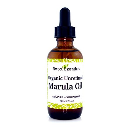 Organic Unrefined Marula Oil | 2oz Glass Bottle | Imported From South Africa | 100% Pure | Cold Pressed | Extra Virgin | For Hair, Skin & Nails | Non-GMO | Fair