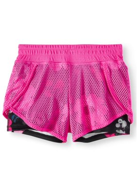 Avia Mesh 2-fer Active Short (Little Girls & Big Girls)