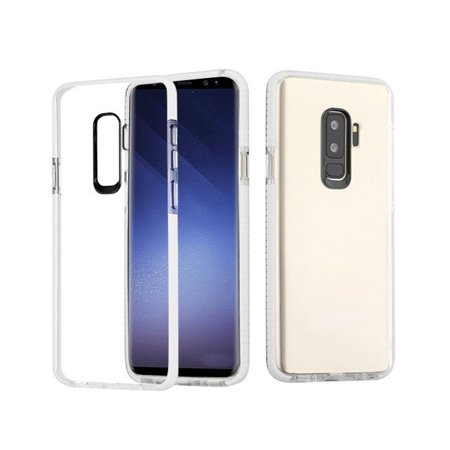 huge selection of ea96c 7f7fd Samsung Galaxy S9 Plus Case, by Insten Bumper Dual Layer [Shock Absorbing]  Hybrid TPU Rubber Candy Skin Case Cover For Samsung Galaxy S9 Plus S9+, ...
