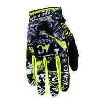 Oneal 2020 Youth Matrix Gloves - Attack Black/Neon Yellow - Youth Small