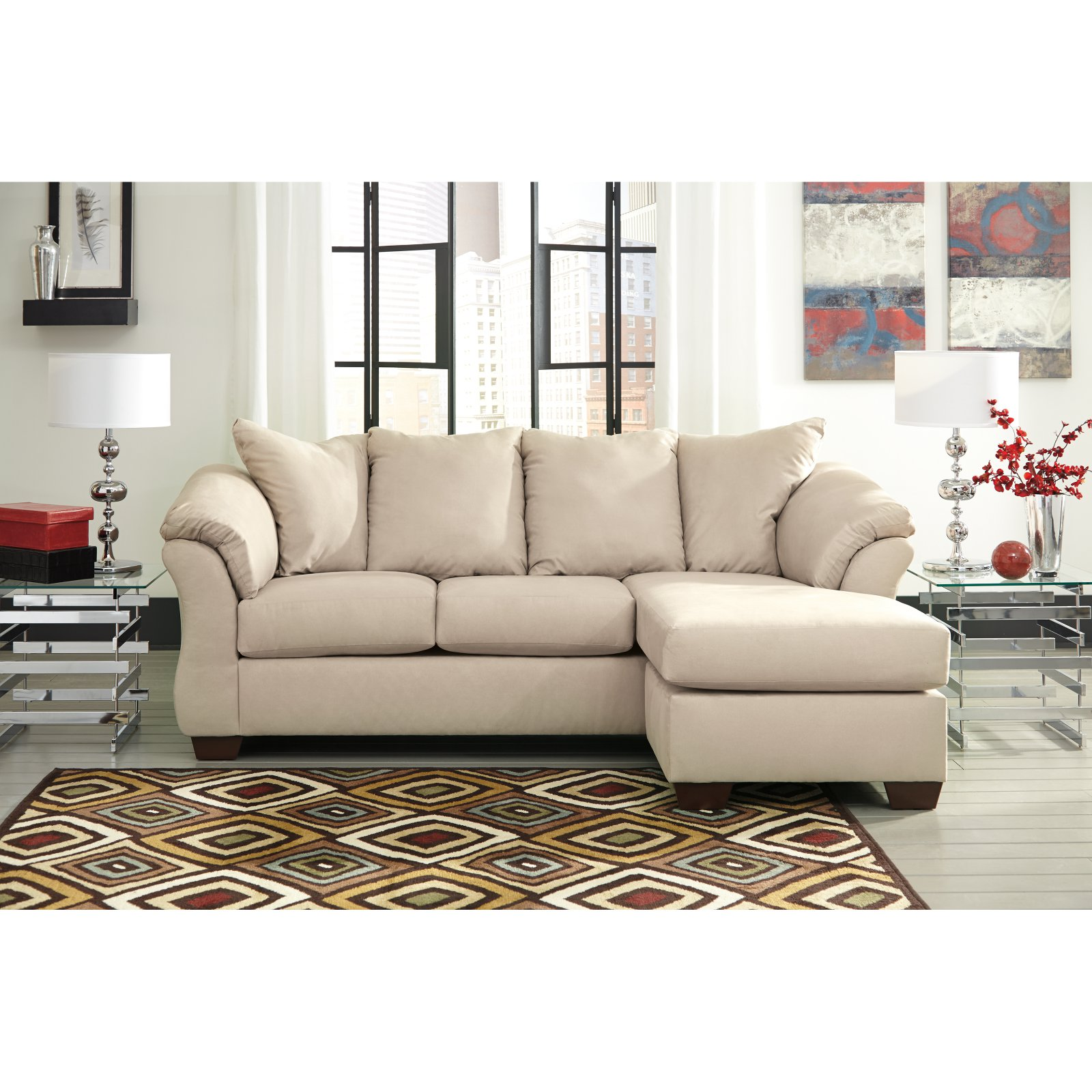 Ordinaire Signature Design By Ashley Darcy Sofa Chaise