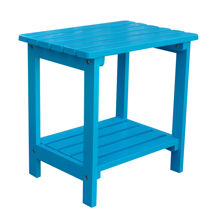 Rectangular Side Table - Turquoise
