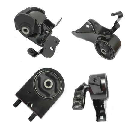 MaxBene Fits: 1999-2003 Mazda Protege 1.8L/2.0L Engine Motor & Trans Mount Set 4PCS for Auto Transmission 99 00 01 02 03 A6486 A6464 A6481 A6485 00 01 02 03 Auto