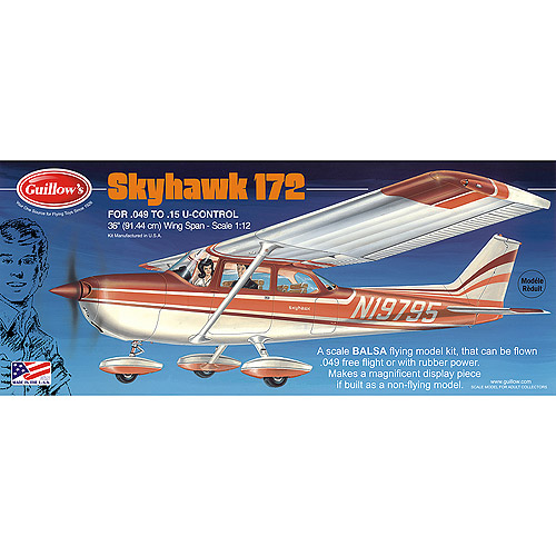 Guillow's Cessna Skyhawk Model Kit