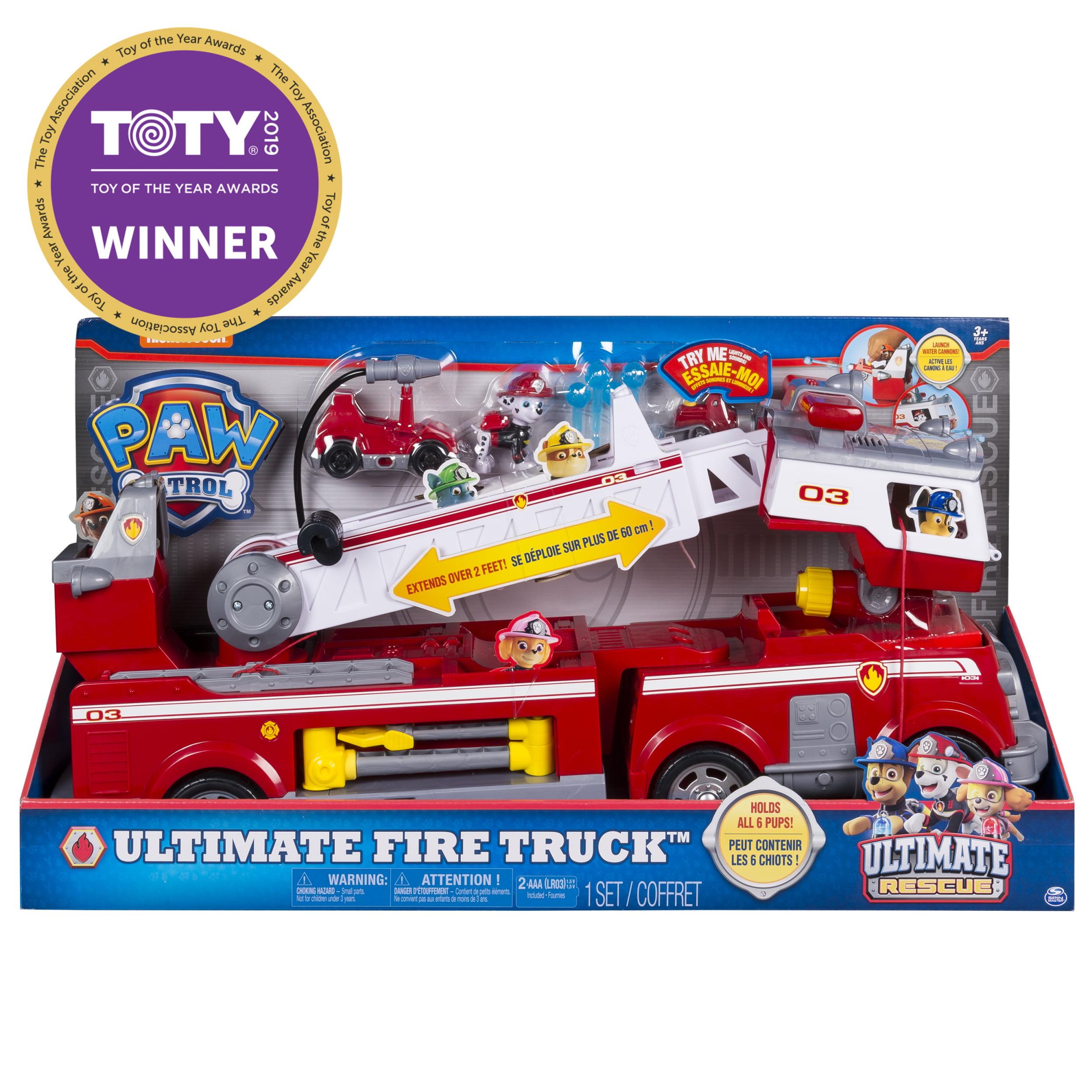 Assemble Track Sound Light Garage DIY Fire Headquarters With Mini Car Plane US