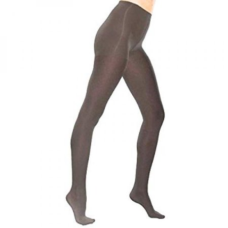 TherafirmLIGHT Women's Support Pantyhose - 10-15mmHg Compression Stockings (Black, Medium)
