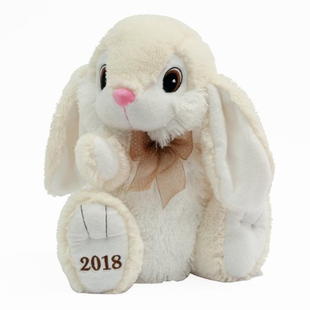 Easter collectible hoppy hopster bunny plush toy for 2018 gift easter collectible hoppy hopster bunny plush toy for 2018 gift cream negle Choice Image