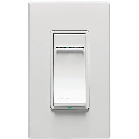 Leviton Security & Automation Vrmx1-1lz Vizia Rf + 1,000-watt Low-voltage Z-wave Led/cfl Dimmer