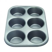 6 Cup Muffin Pan (Pack of 3)