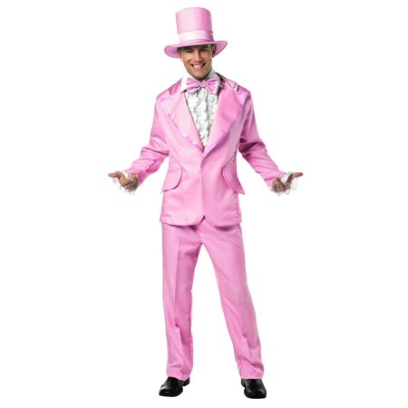 70's Funky Pink Prom Wedding Tuxedo Costume Adult