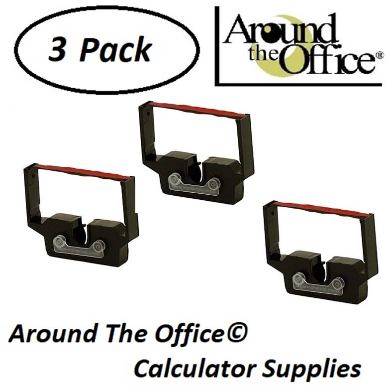 Monroe Model 8130 Compatible CAlculator RC-601 Black & Red Ribbon Cartridge by Around The Office