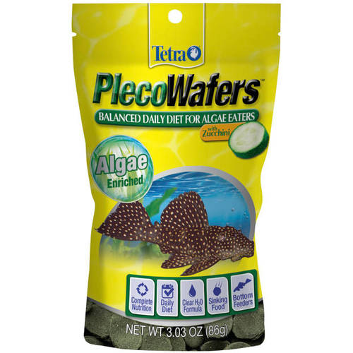 Tetra Tetraveggie Tropical Algae Wafers, 3.03 oz