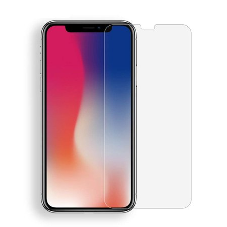 IPhoneX(Iphone 10) Screen Protector, 2.5D rounded edges 9H Premium Real Tempered Glass, Orginal Touch Feeling,9H Scratch Resistant, Bubble free, Easy Clean, Easy Install[2 Pack 0.33mm 9H 2.5D]