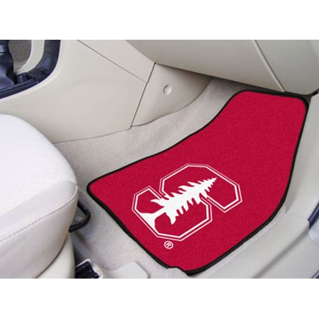 """Stanford 2-pc Carpeted Car Mats 17""""x27"""" - image 2 of 2"""