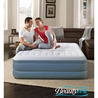 Deals on Beautyrest Queen 18-in Silver Lumbar Lux Raised Air Mattress