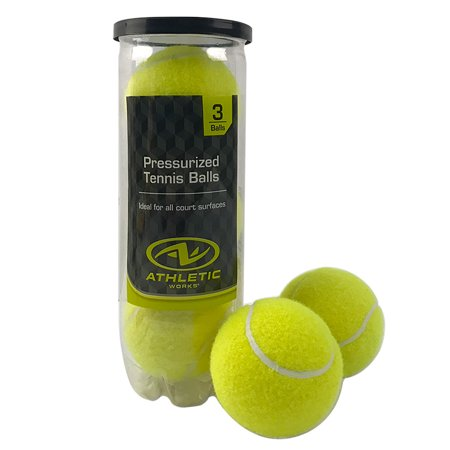 - Athletic Works Single Can Tennis Balls