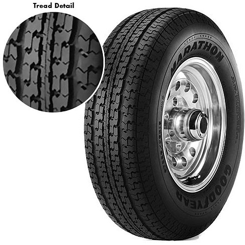 Goodyear Marathon Trailer Tire St235 80r16 10 Ply Load Range