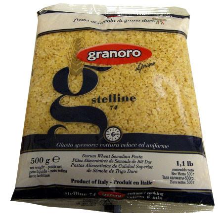 Pasta Stars, Stelline (Granoro) 500g