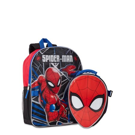 Spiderman Backpack with Lunch Bag