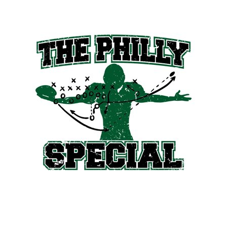 The Philly Special Trick Play 4th and 1 Underdog Championship Short Sleeve T-ShirT Championship Football Shirts