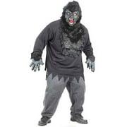 Adult Plus Size Easy Gorilla Costume