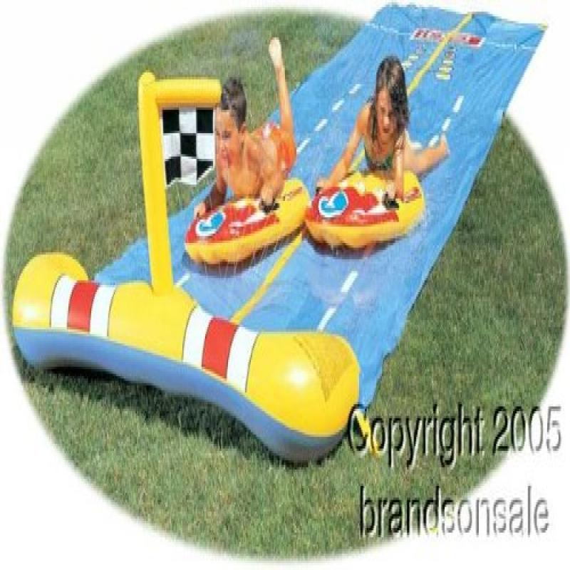 Children's Inflatable Race Waterslide by