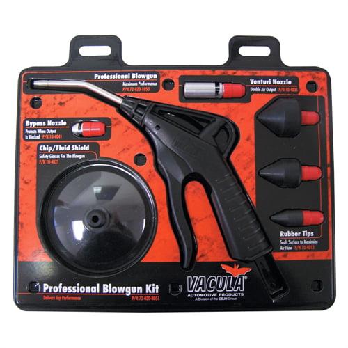 Vacula 7 Pc Professional Blow Gun Kit 72-020-8051