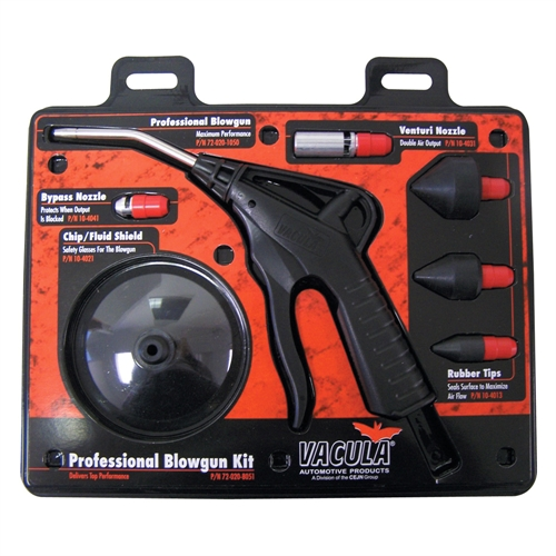 Vacula 7 Pc Professional Blow Gun Kit 72-020-8051