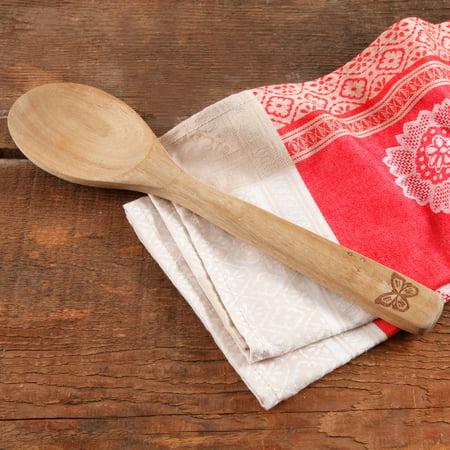 The Pioneer Woman Cowboy Rustic Acacia Wood Spoon