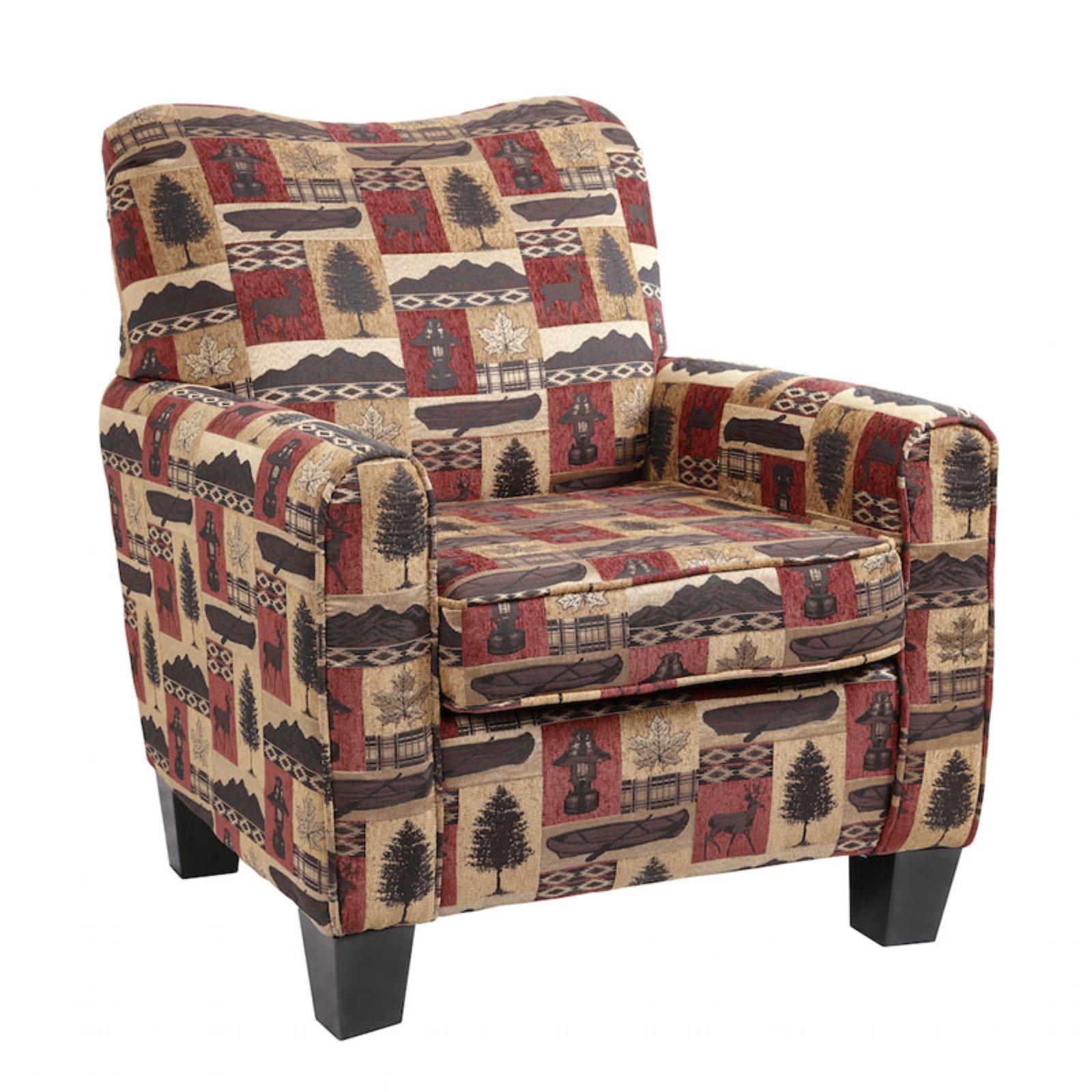 American Furniture Classics Lantern Lodge Hunting Cabin Club Chair