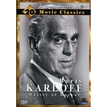 Boris Karloff Collection 20 Movie Pack