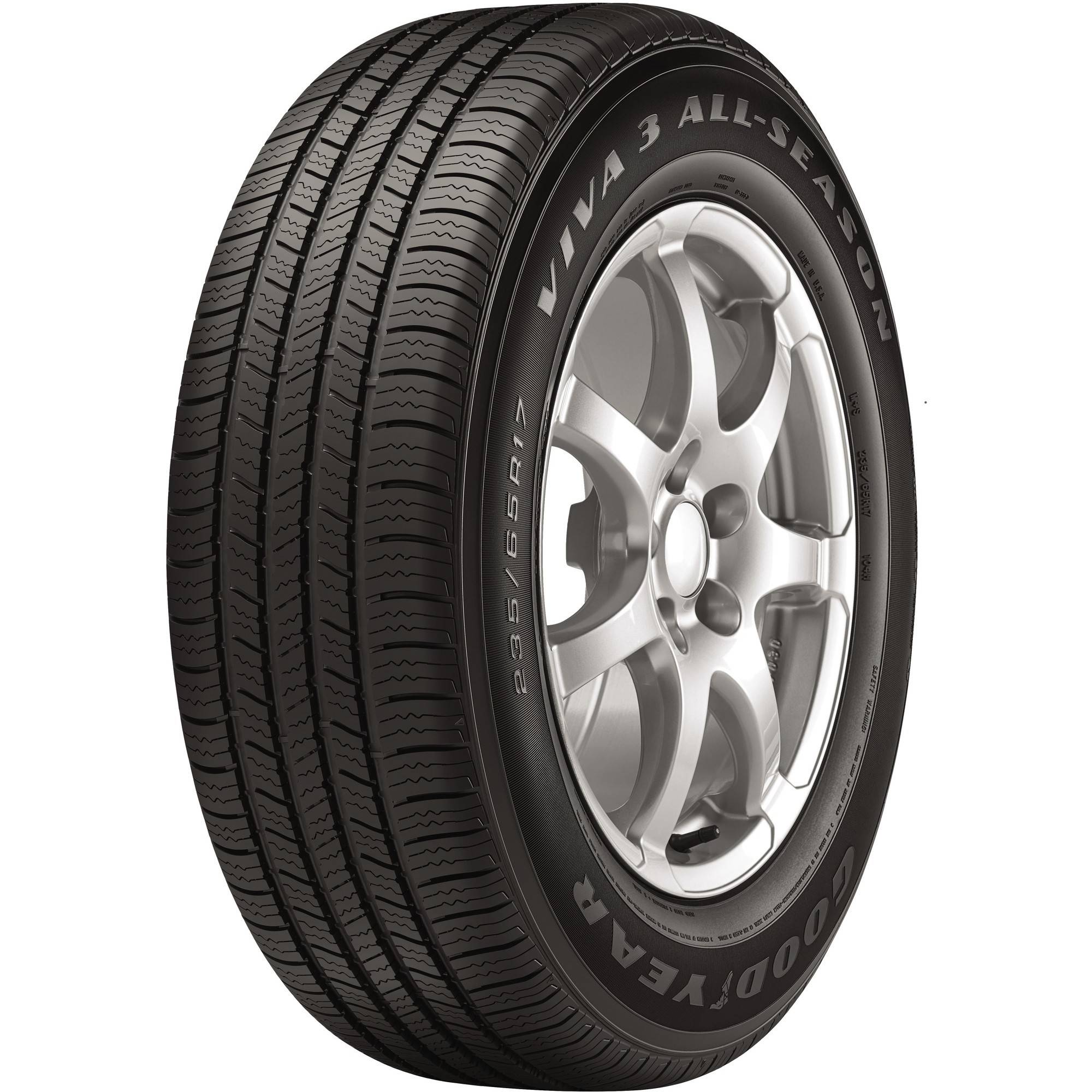 goodyear viva 3 all season tire 21560r16 95t