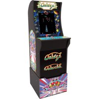 Galaga Arcade Machine with Riser, Arcade1UP