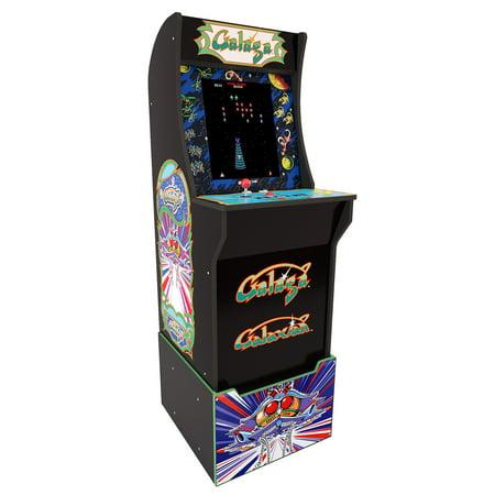 Galaga Arcade Machine with Riser, Arcade1UP
