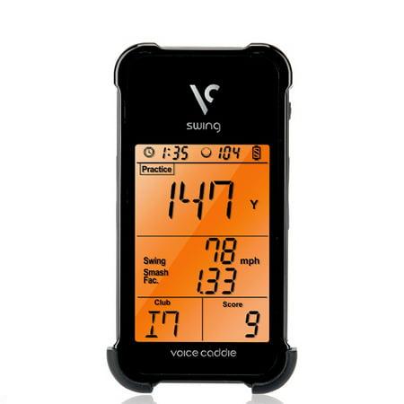- Voice Caddie SC100BK Golf Swing Caddie Portable Launch Monitor - Black