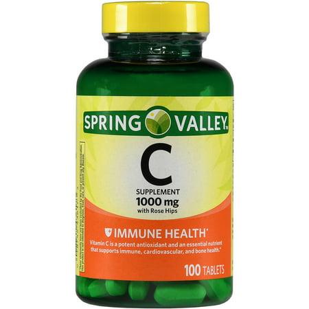 La vitamine C naturelle avec églantier Complément alimentaire 100 ct