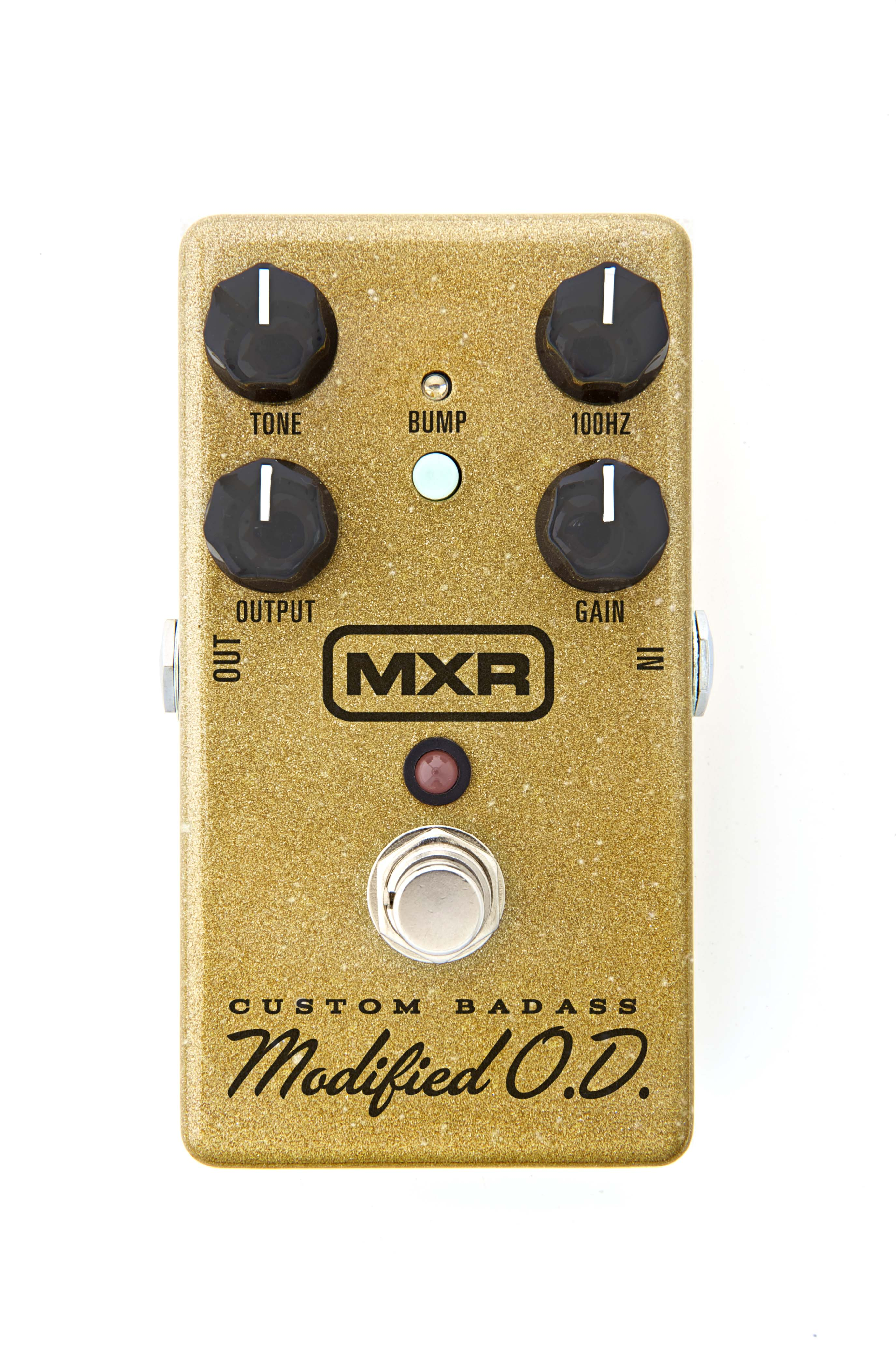 MXR M77SE Special Edition Gold Sparkle Badass Modified Overdrive by MXR