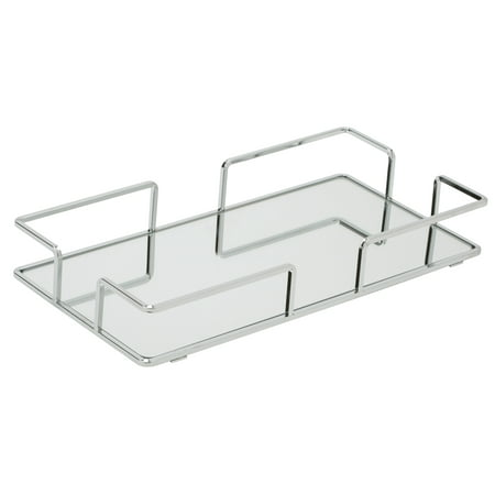 Modern Rectangular Vanity Mirror Tray ()